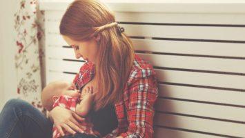 Обязанности матери: не только еда, но и забота, ласка, внимание